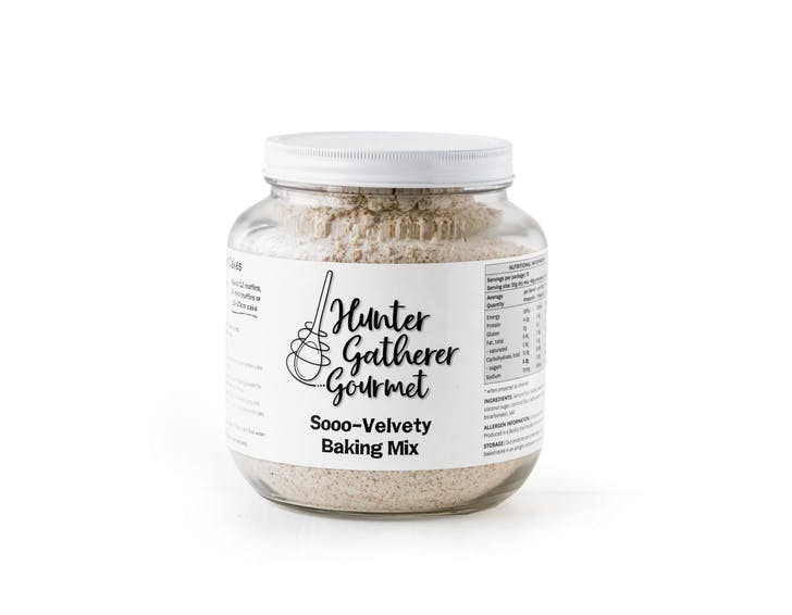 Hunter Gatherer Gourmet's Soo-Velvety Vanilla Baking Mix.