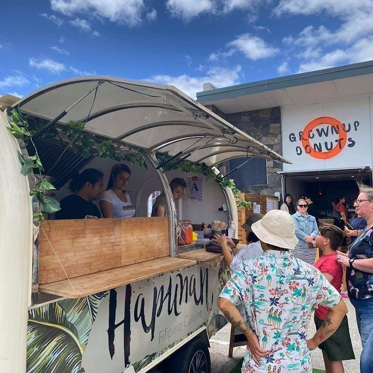 Hapunan will be trading at GrownUp Donuts Wairau Valley this Saturday.