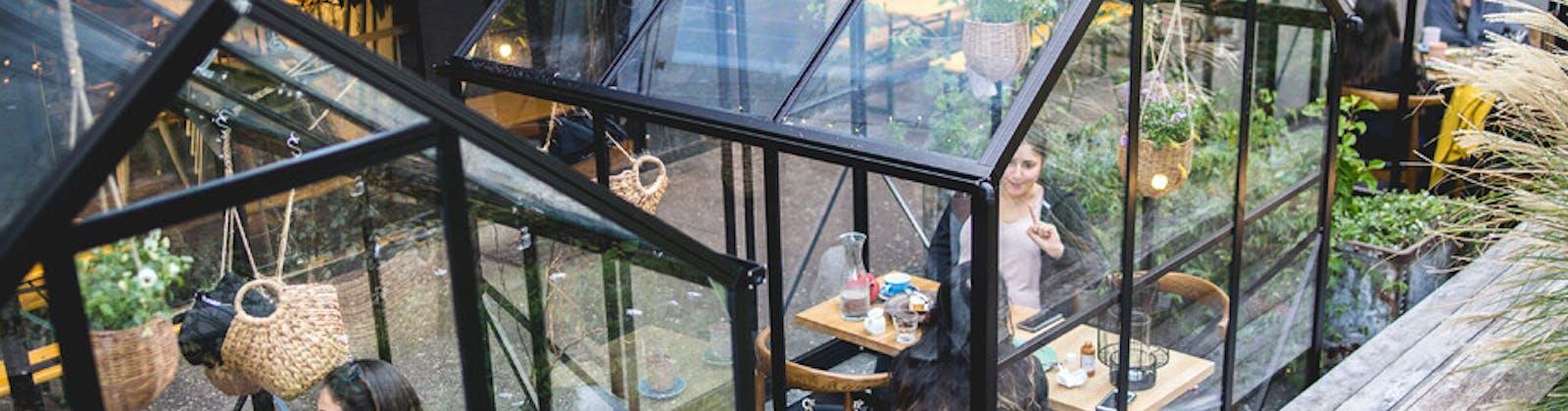 Miann chocolate factory morningside glasshouses