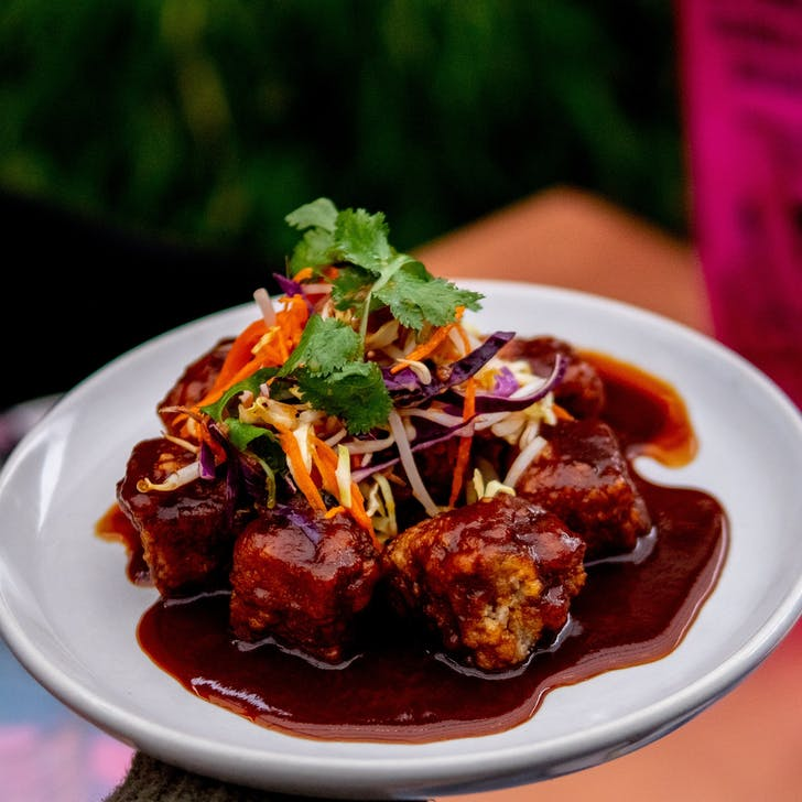 Wu & You's Five Spiced Pork Belly.