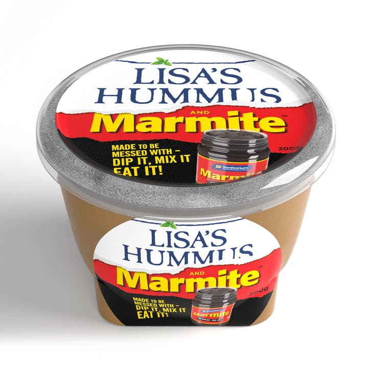 Lisa's Marmite Hummus hits stores late September