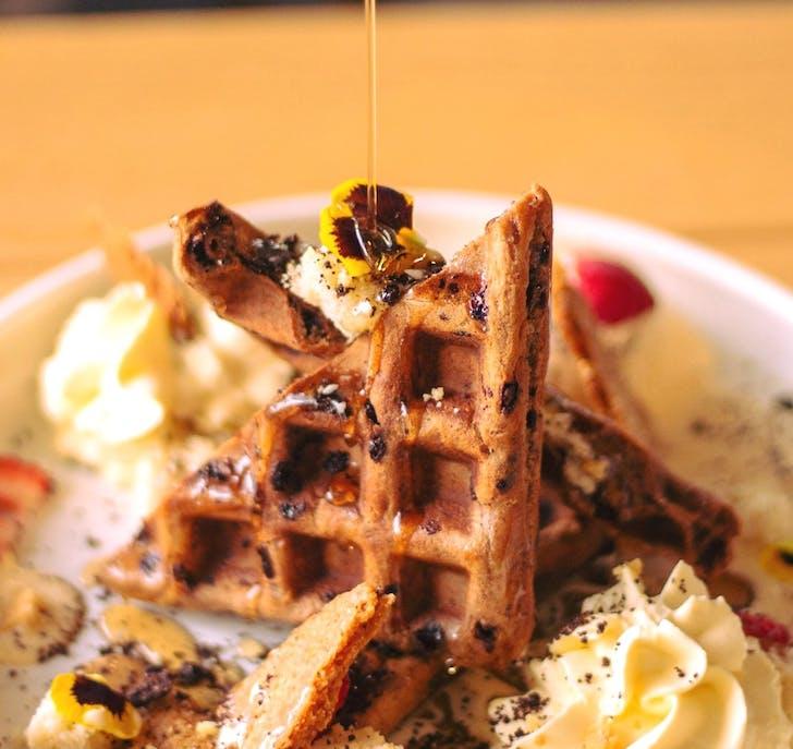 Waffles from Melba