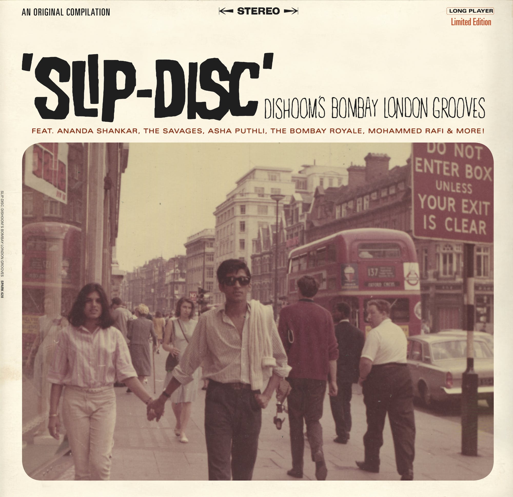 Slip Disc Album Cover