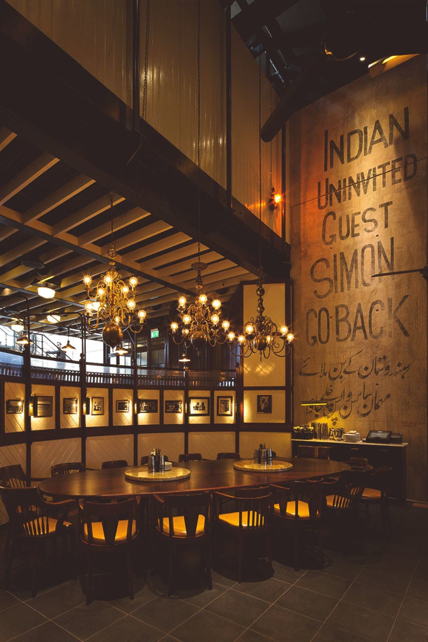 Dishoom King S Cross Indian Restaurant In Granary Square