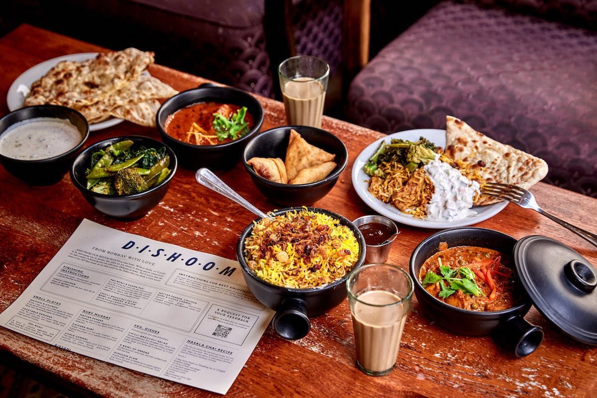 Dishoom delivery in Cambridge