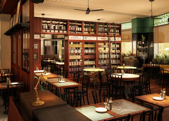 Dishoom Birmingham café interior