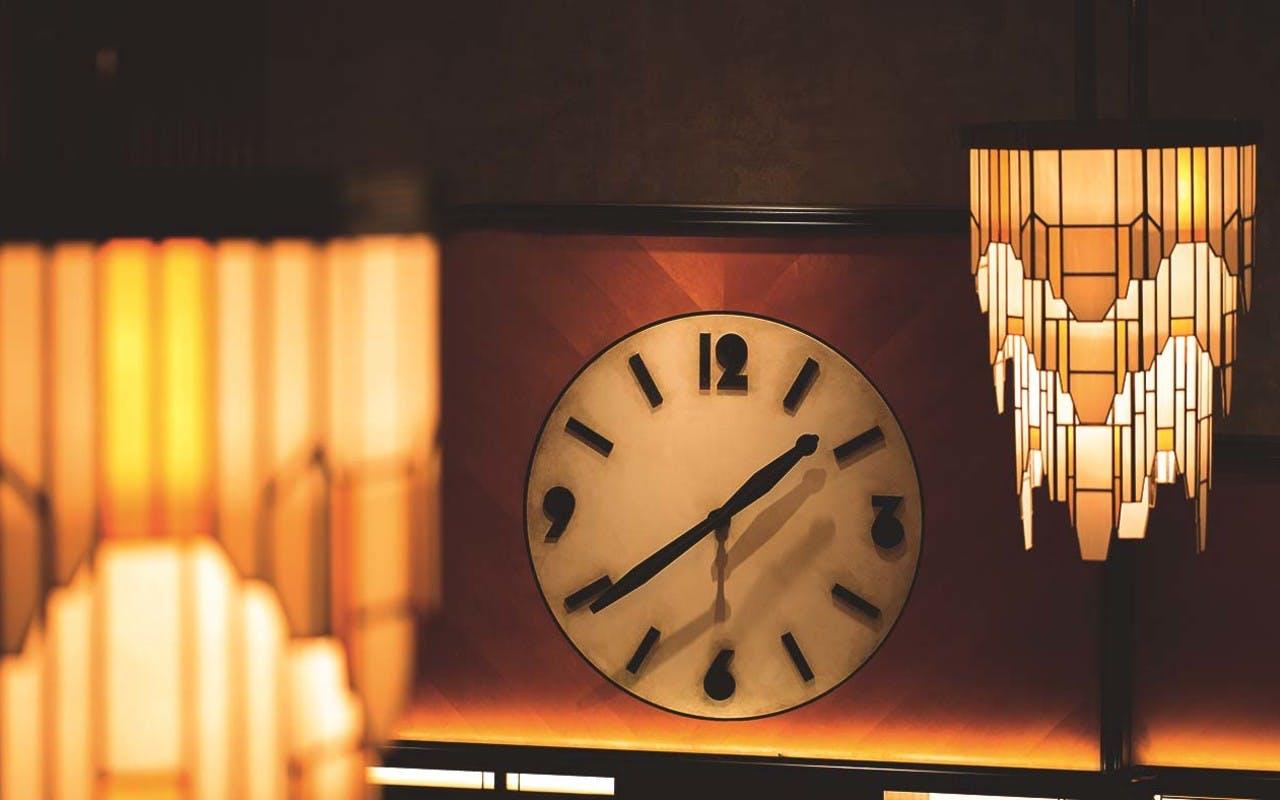 Dishoom Kensington Clock