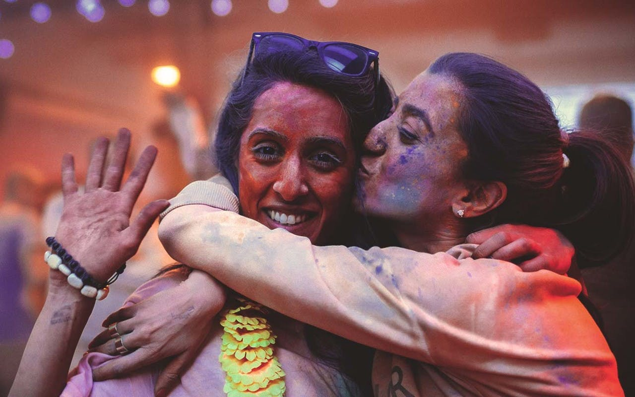 Holi at Dishoom
