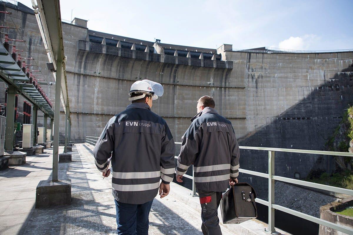Staumauer Kraftwerk Ottenstein