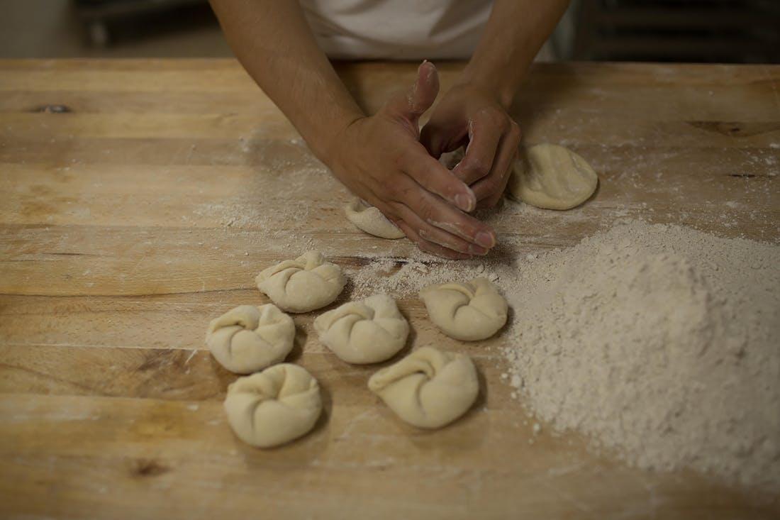 Bäcker Kaisersemmel Handarbeit
