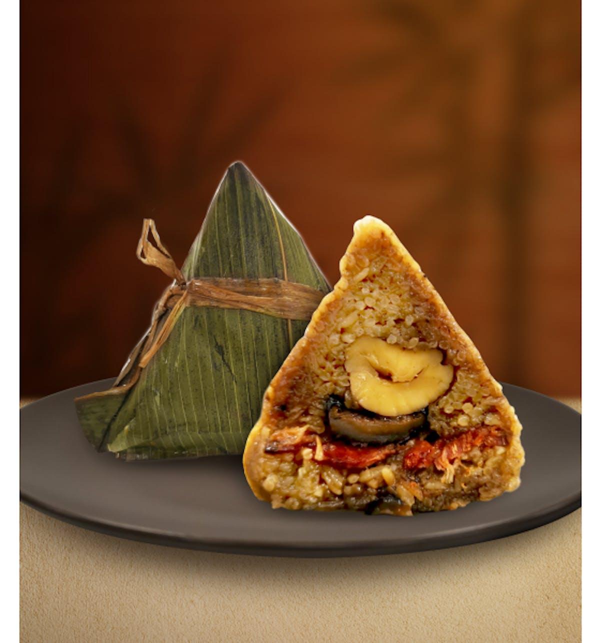 Gourmet Bak Kwa Rice Dumpling 经典肉干棕