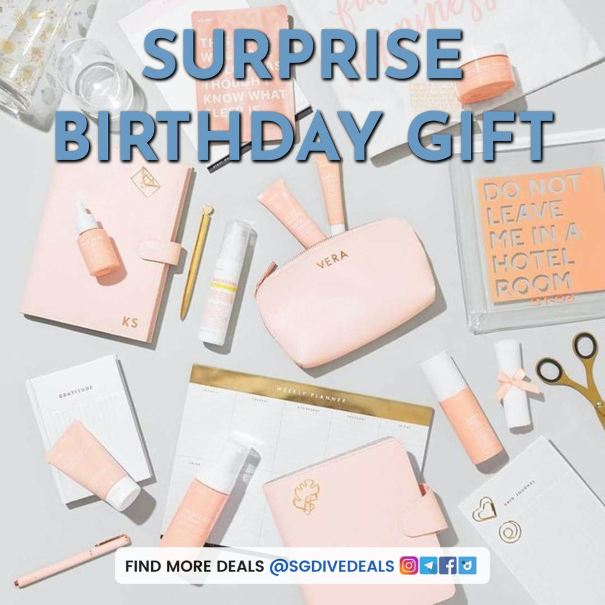 Kikki.K surprise birthday gifts
