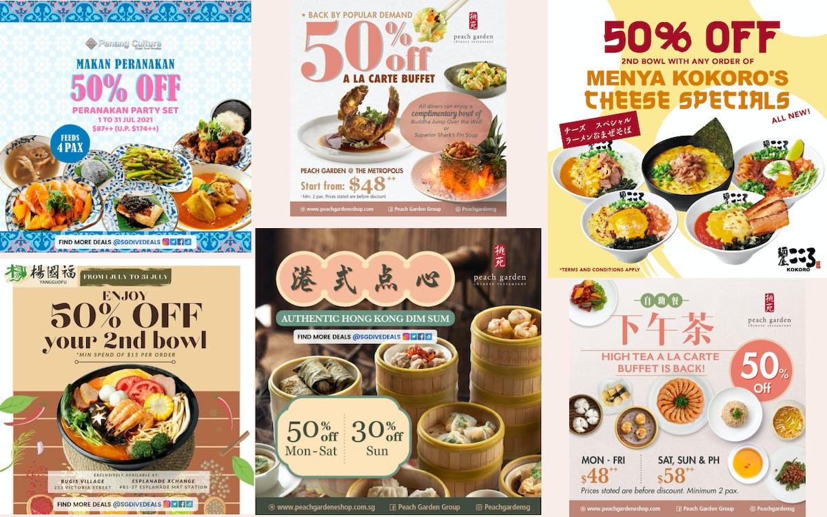 Asian Fare at 50%!