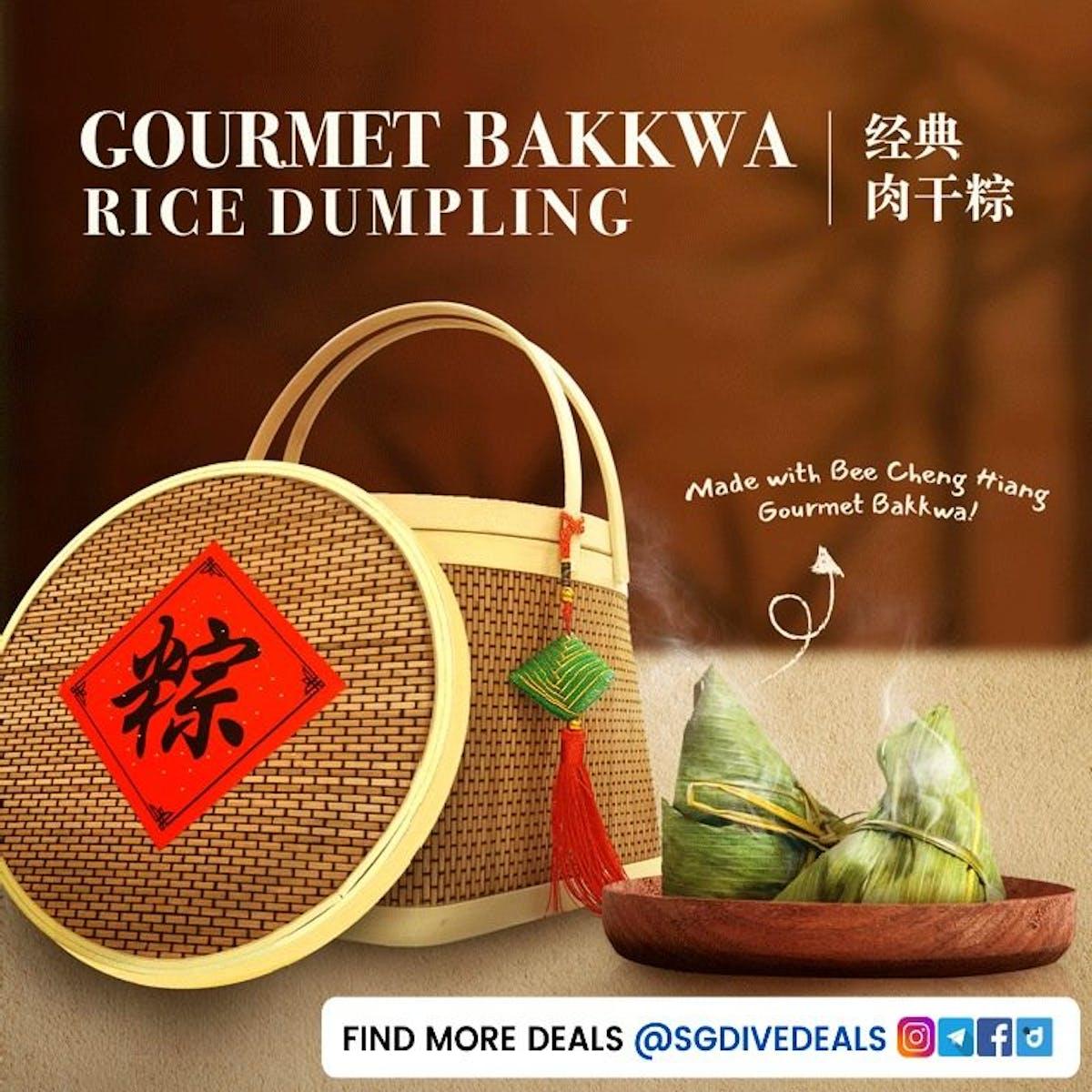 Gourmet Bakkwa Rice Dumpling