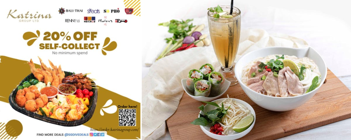 20% off Self-Collect @ So Pho