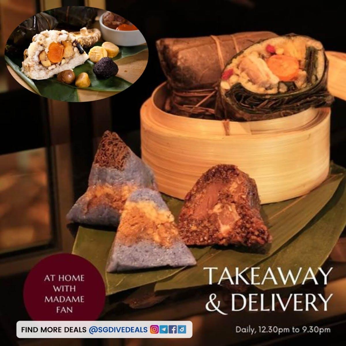 Truffle or Abalone Rice Dumpling & more!