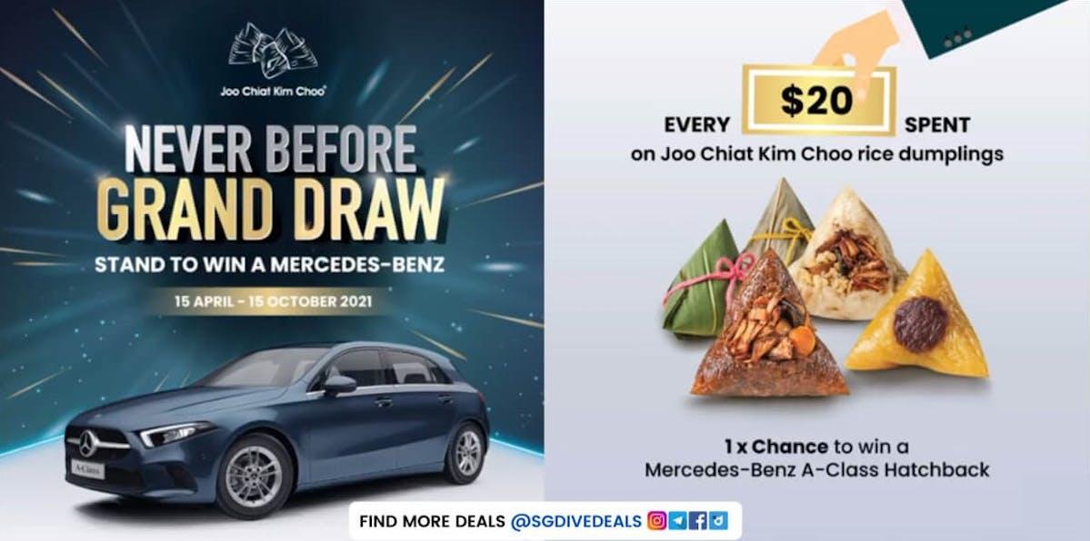 Win Mercedes-Benz A-Class Hatchback!