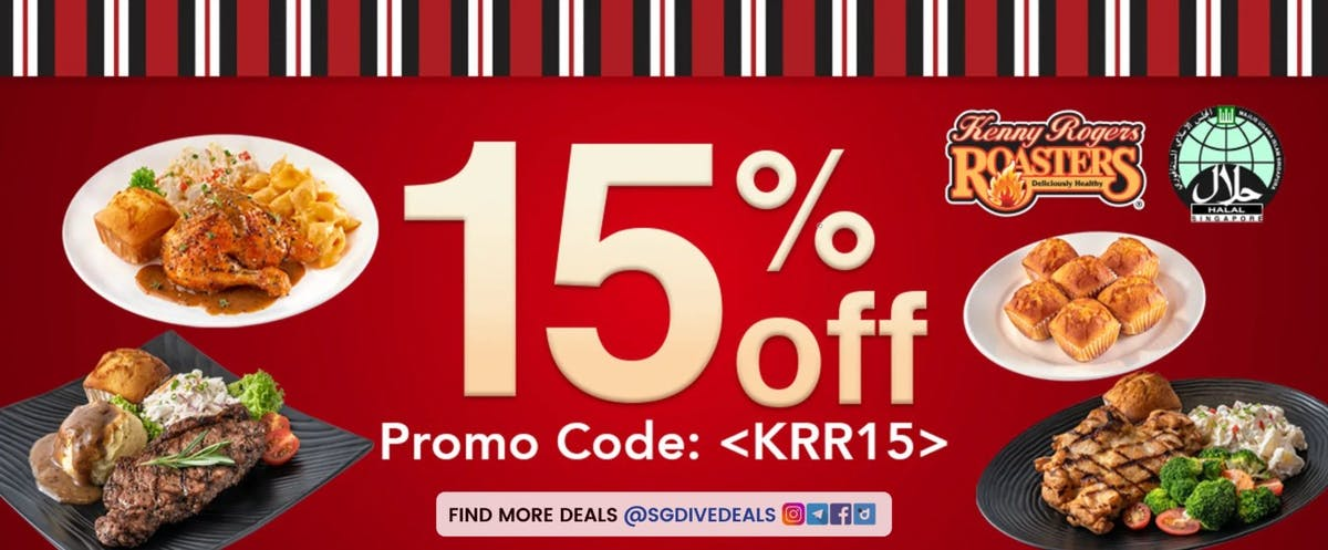 15% off with promo code!