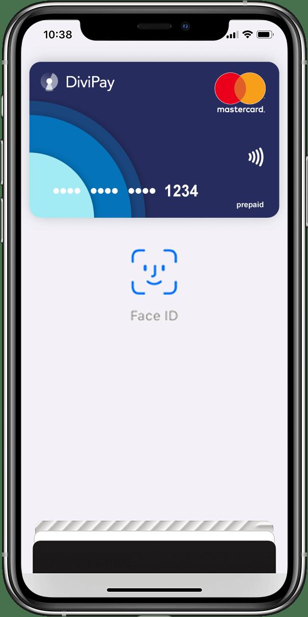 DiviPay Apple Pay FaceID