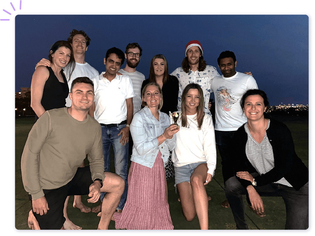 We're a tight-knit, product-focused team based out of Surry Hills, Sydney. We love working with our customers to build easy-to-use finance tools.
