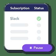 Cancel subscriptions in a click