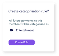 Categorise expenses automatically