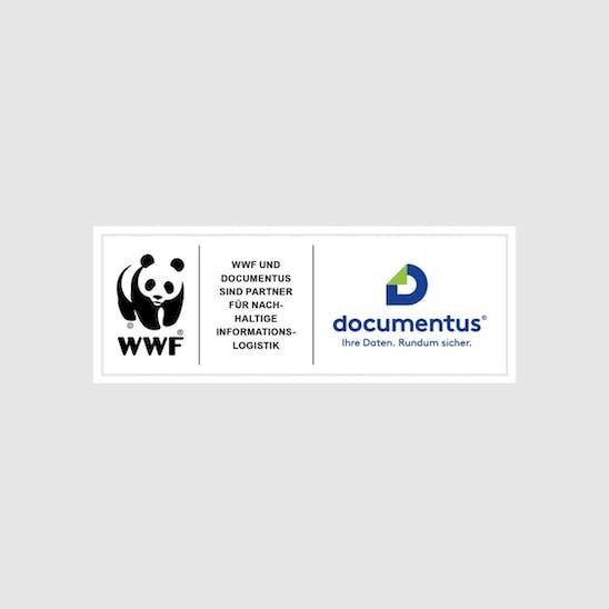Partnerlogo von WWF und documentus