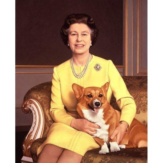 Собака Королевы Елизаветы 2