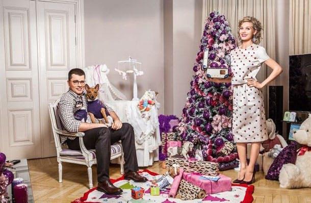 собака Гарика Харламова и Кристины Асмус