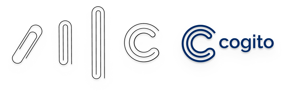 Cogito's logo evolution