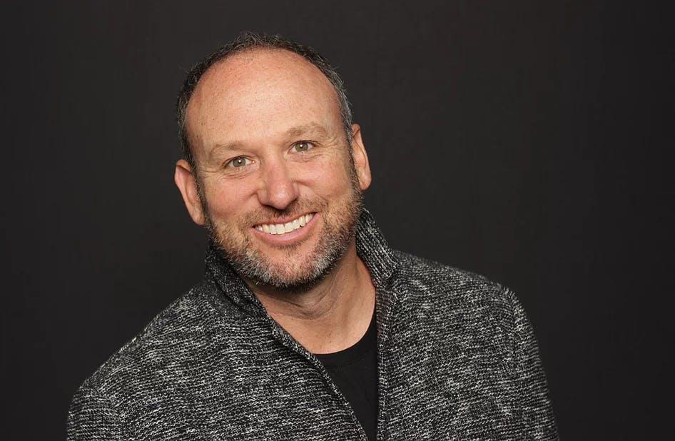 Josh Levine smiling