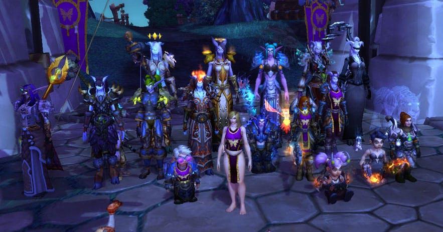 Guild screenshot from DotA's 10th anniversary