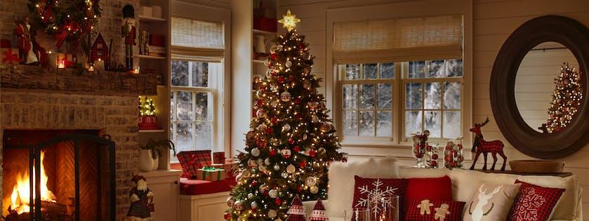 Interior holiday decorations