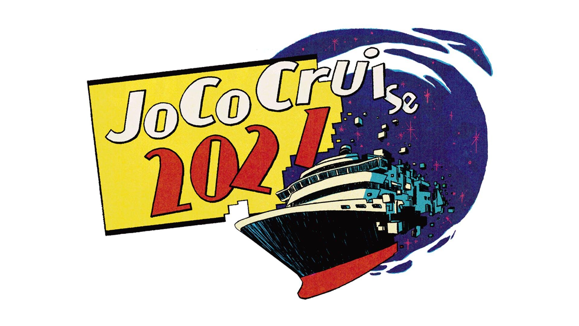 Logo for JoCo Cruise 2021