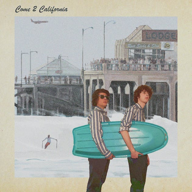 Album artwork for Cap'n Marble's Come 2 California EP