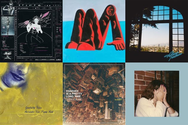 Grid of album artwork from Feb 21