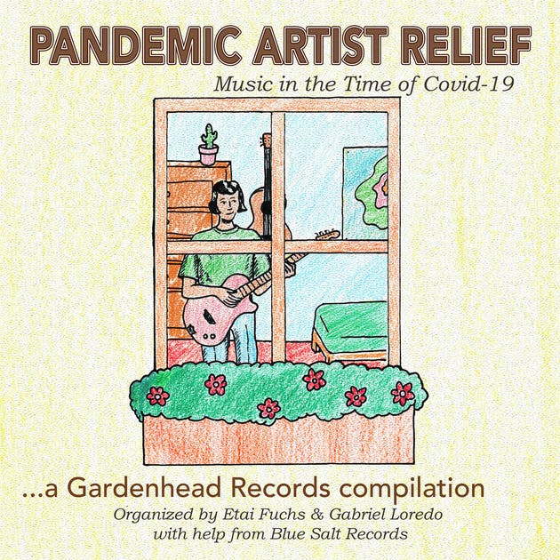 Cover art of Pandemic Artist Relief