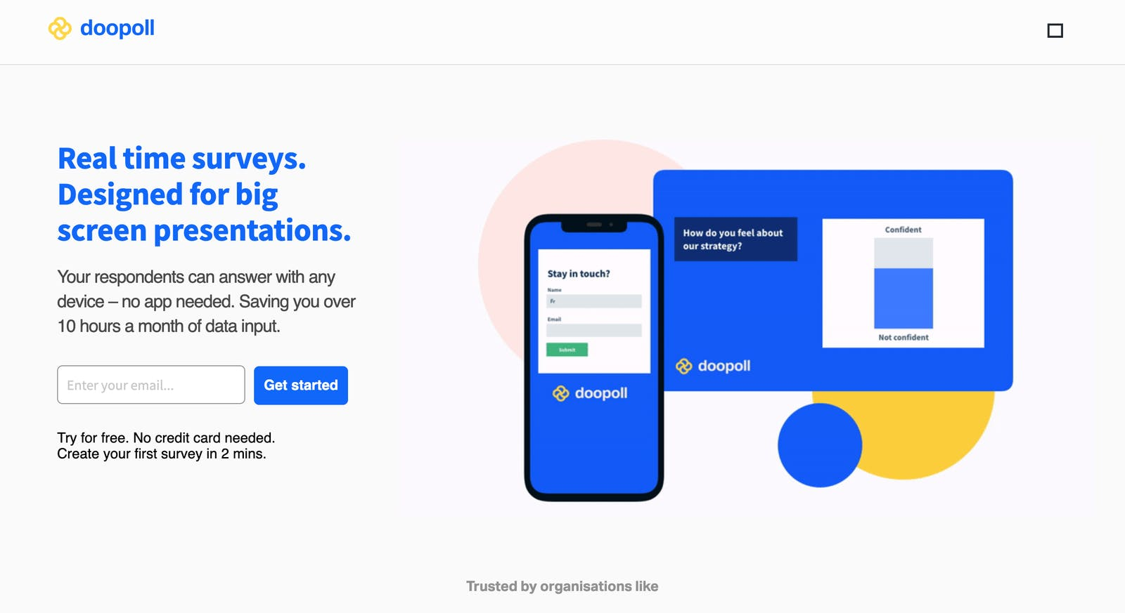 Post growth landing page copy