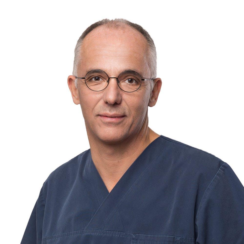 Dr. Dr. med. Thierry Vuillemin, ORL FMH Hals-, Kiefer- und Gesichtschirurge