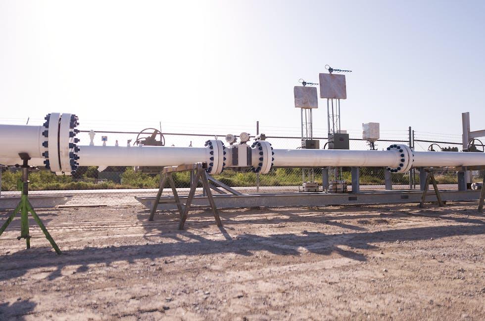 Ultrasonic Meter Station