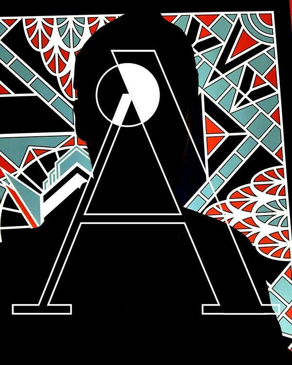 Amédée Paris  drapier studio branding, logotype, typedesign