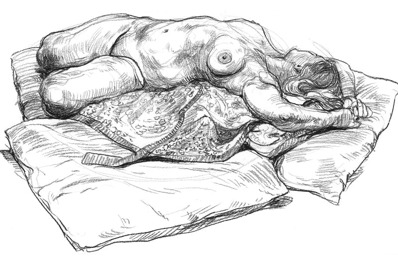 Online Life Drawing - 10-07-2020