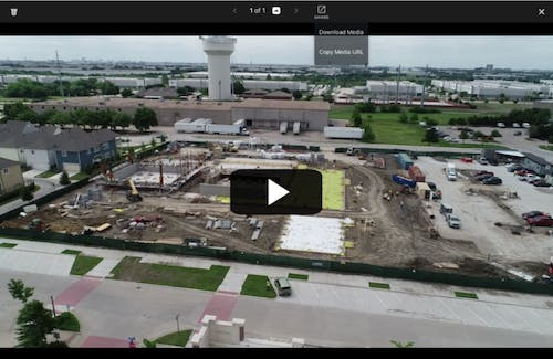 Users can now download videos directly from DroneDeploy.