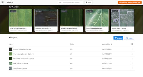 Agriculture On-Boarding with DroneDeploy