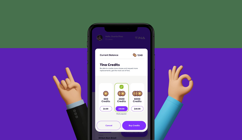 Tina App image