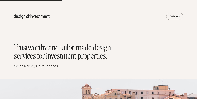 Design4Investment image
