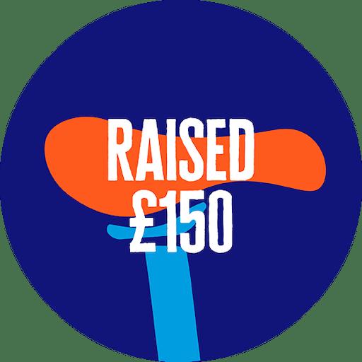 £150 raised