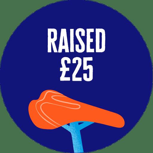 £25 raised