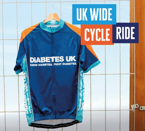 Diabetes UK cycling jersey