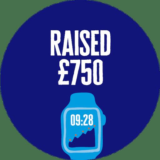 £750 Raised